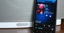 Sonos Play 5 Connected with Mobile Phone